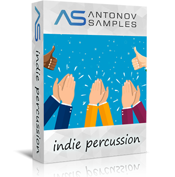 indie percussion stomp library