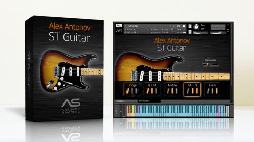 ST Guitar Alex Antonov